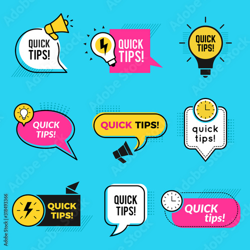 Quick tips Canvas-taulu