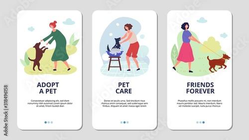 Pets care Canvas Print