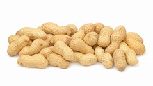 Peanuts In Shell Isolated On W...