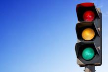 Feux De Signalisation Vert, Orange, Rouge