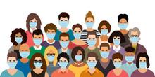 Group Of People Wearing Medica...
