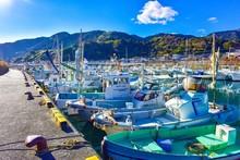 Alot Of Fishing Boats