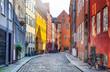canvas print picture - Kopenhagen, Dänemark