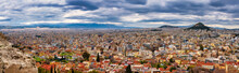 ATHENS,GREECE/MARCH 29,2015:The Panoramic View Of Athens From The Top