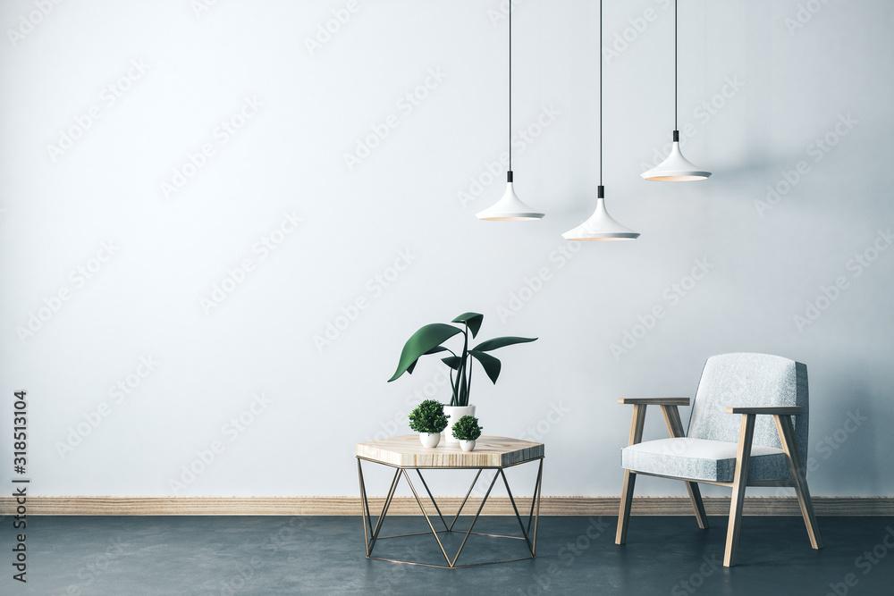 Fototapeta Modern living room interior