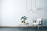 Fototapeta Kawa jest smaczna - Modern living room interior