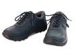 canvas print picture - Paar blaue Schuhe