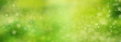 Leinwanddruck Bild - Abstract green spring background
