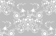 Seamless Vector Pattern White ...