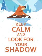 Happy Groundhog Day! Vector Co...