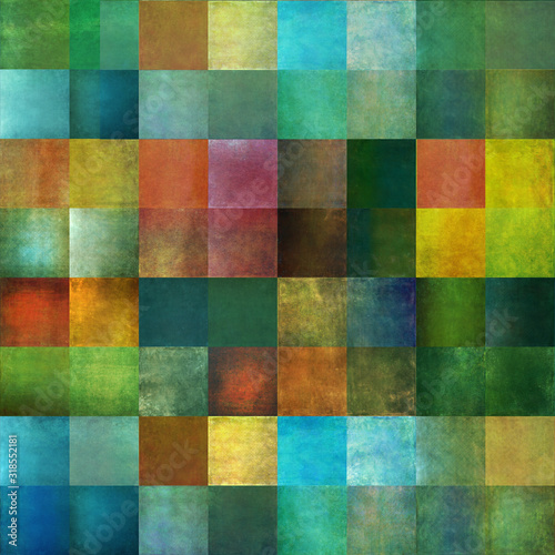 Textured, geometric background image and useful design element Wallpaper Mural