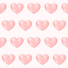 Gradient Colored Heart Seamles...
