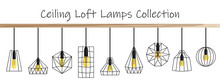 Vector Ceiling Loft Lamp Colle...