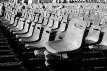 Empty Chairs In Auditorium