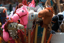 Close-Up Of Toys For Sale At Shop