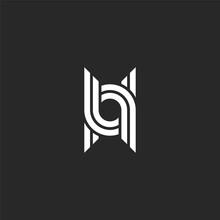 Monogram Letter U Logo Linear ...