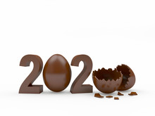 2020 Chocolate Numbers With A ...