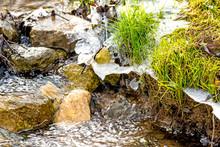 Little Cascade Of A Creek In W...