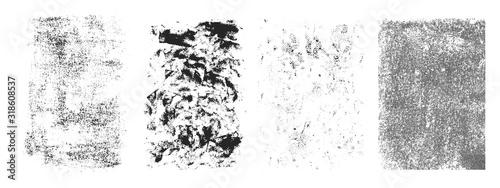 Fototapeta Grunge vertical frames set obraz