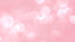 pink bokeh blur abstract background. Valentines day background greeting card. Happy Valentine's Day resolution concept.