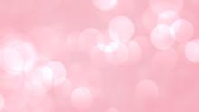 Pink Bokeh Blur Abstract Backg...