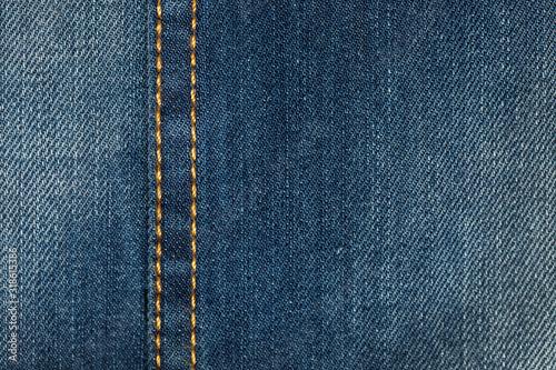 Photo Full Frame Shot Of Jeans