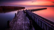 Summer Sunset On Lake Neusiedl