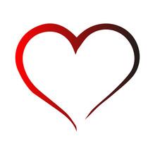 Vector Heart Shape Frame With ...