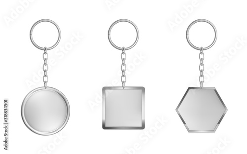 Photo Keychains set