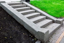 A Granite Staircase Of Stone B...