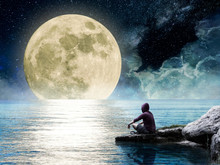 Contemplate The Moon