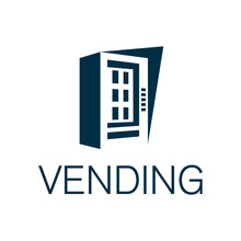 Vector Logo Of A Vending Machi...