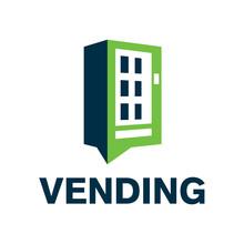 Vector Logo Of A Vending Machi...