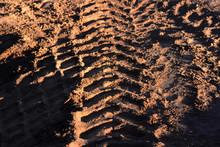Abstract Wheel Trail Backgroun...
