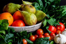 Coloridas Frutas Y Verduras, M...