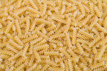Raw Dried Extruded Fusilli Pas...