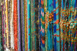 Full Frame Shot Of Colorful Beads For Sale In Market