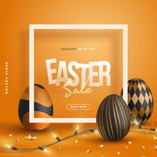 3d Trendy Easter Party Sale Pr...