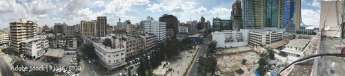 Fototapety, obrazy: PANORAMIC VIEW OF CITYSCAPE AGAINST SKY