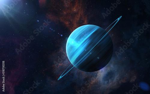 Fotografie, Obraz Planet Uranus.