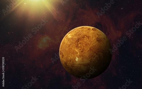 Carta da parati Planet Venus.