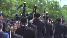 Bagpipers In Scotland Playing ...