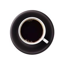 Black Coffee On White