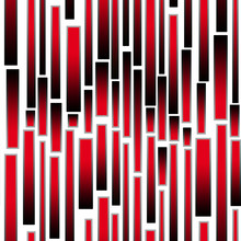 Black And Red Vertical Stripes Lines, Seamless Pattern On White Background