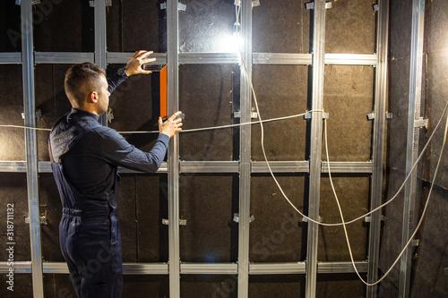 Make soundproofing in room Fototapet