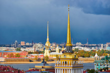 Panoramic View With Spire Of A...