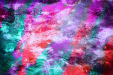 Brightly Colored Abstract Digi...
