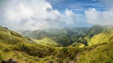 Mount Pelee Green Volcano Hill...
