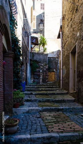 Anagni, Italy Canvas Print