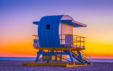 Lifeguard Sea Beach Miami Suns...